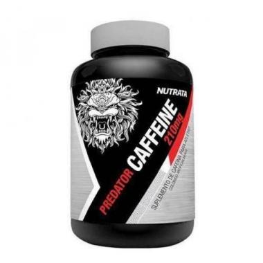 Predator Caffeine 210mg 120 cápsulas Nutrata