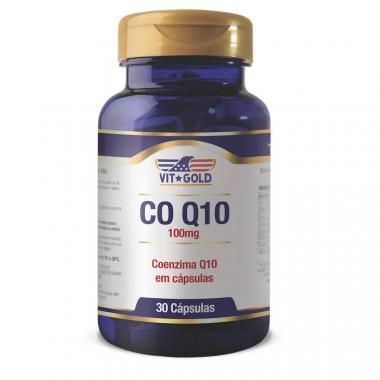 Coenzima Q10 100mg 30 cápsulas Vit Gold