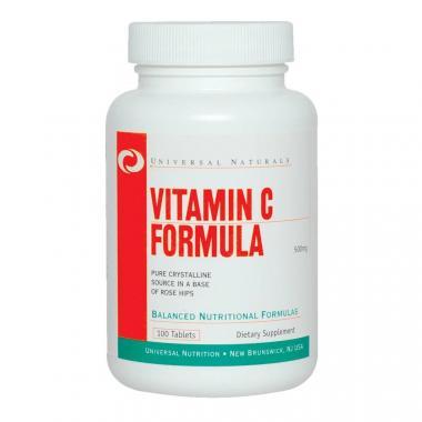 Vitamin C Formula 100 tabletes Universal Nutrition
