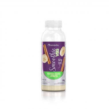 Smoothie Proteína Vegetal 20g Sanavita - Banana e Canela