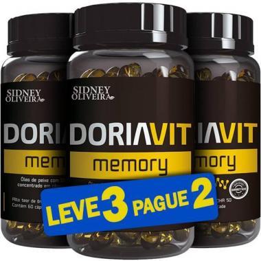 Ômega 3 Doriavit Memory 60 Cápsulas (Leve 3 Pague 2 - 180 Cápsulas)