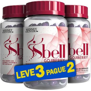 Sbell Gojiberry 500mg 60 Cápsulas (Leve 3 Pague 2)