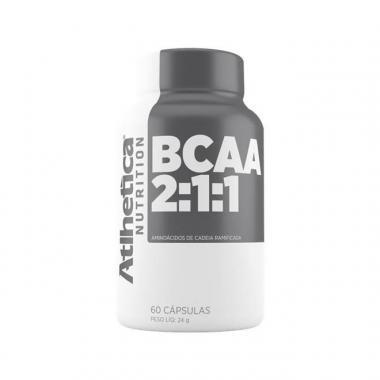 BCAA 2:1:1 60 cápsulas Atlhetica Nutrition