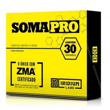 Soma Pro ZMA 30 cápsulas Iridium Labs