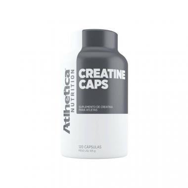 Creatine Caps 120 cápsulas Atlhetica Nutrition
