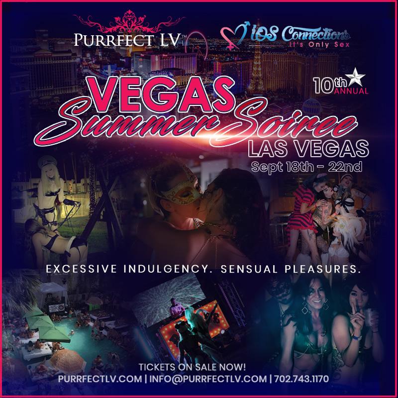 Las Vegas Swinger Party - Vegas Summer Soiree 2019 4 Day Event