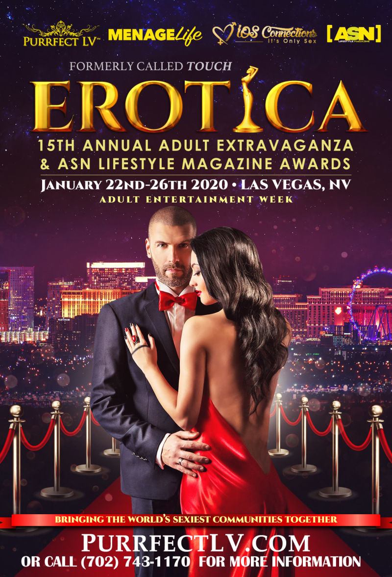 EROTICA 15th Annual Swinger Party Jan 22nd 2019 Las Vegas
