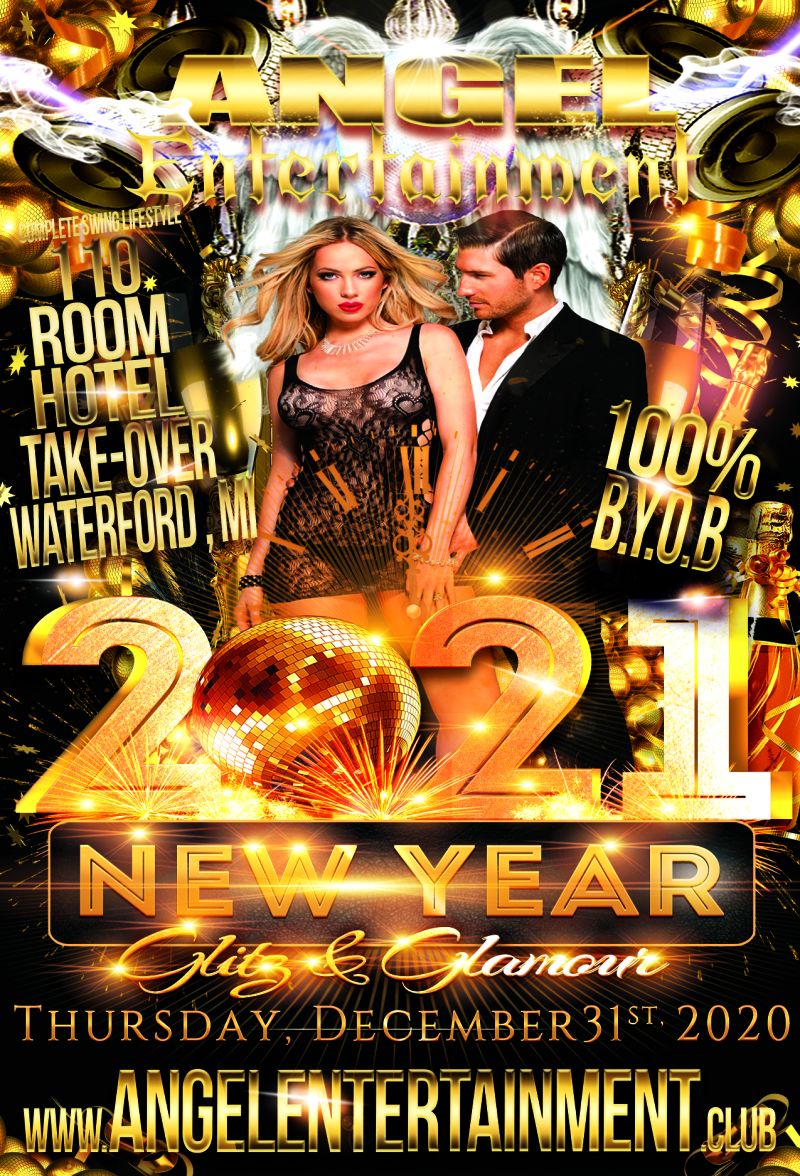 Angel Entertainment - Glitz & glamour 2021 new years eve bash at novi, mi on dec 31