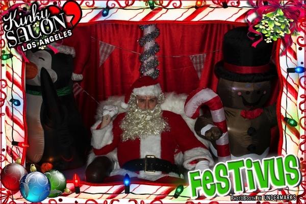 Steve as Santa