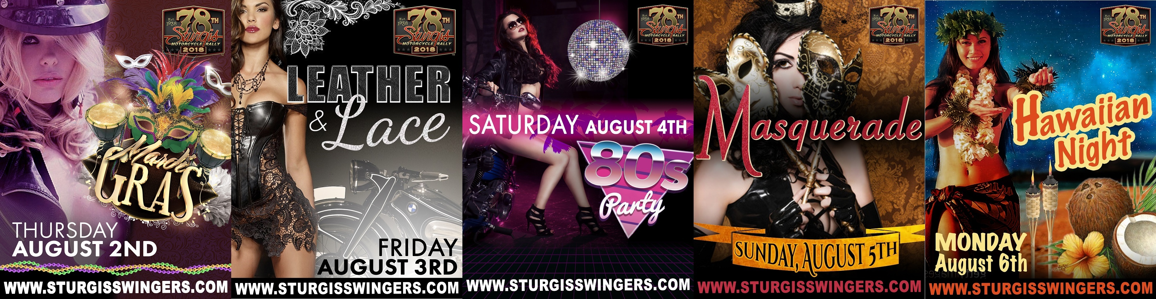 VISIT THE WILDEST PARTY AT STURGIS!!!