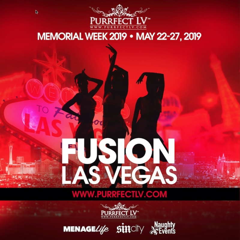 Fusion Las Vegas 2019 Swinger Party May 22nd - May 27th