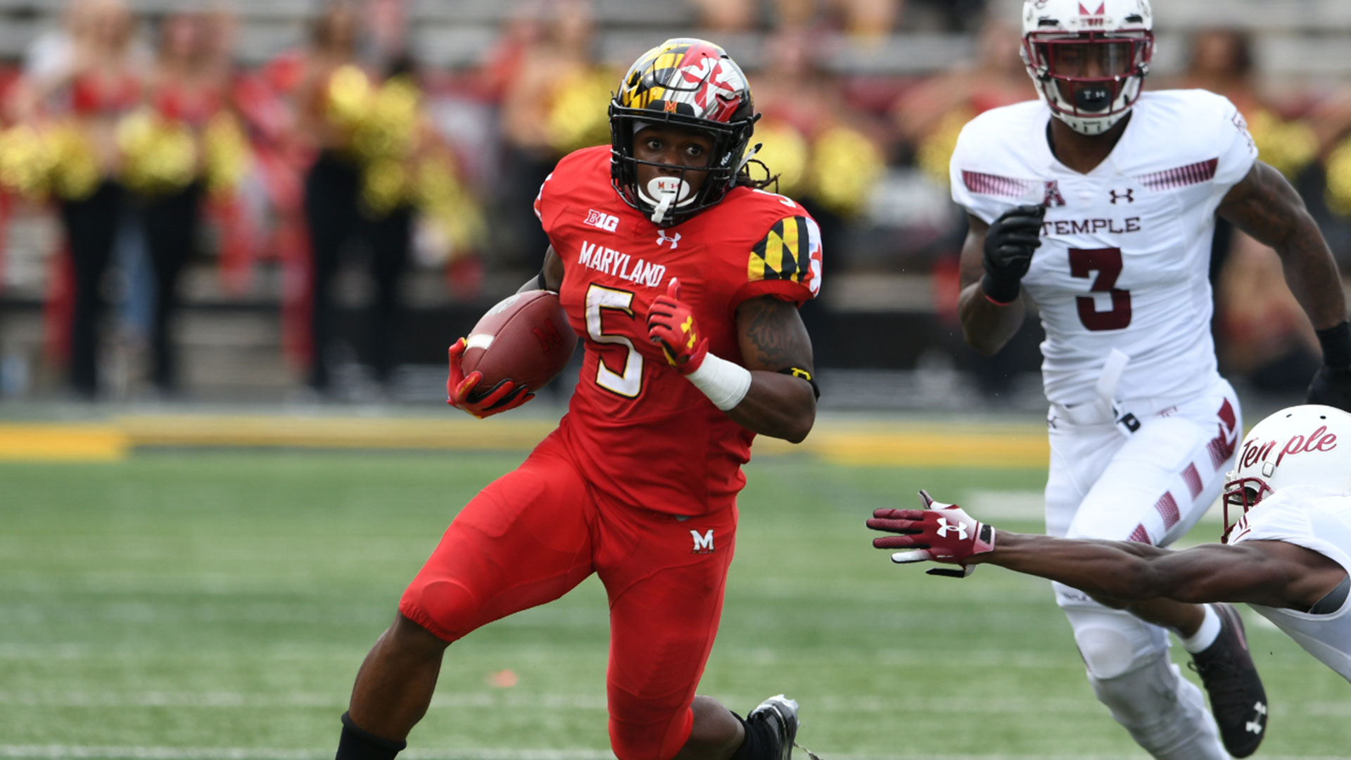 terps fall to temple in home opener - university of maryland athletics