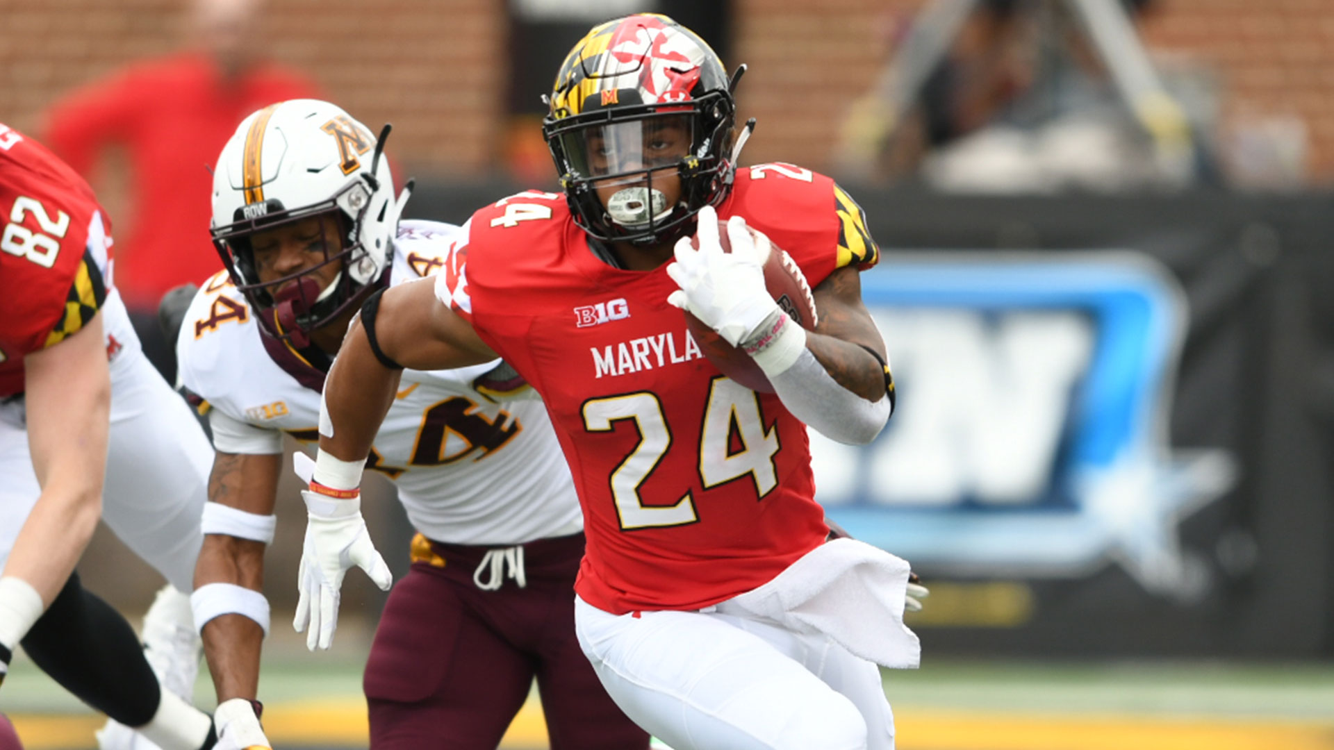 terps roll over gophers, 42-13 - university of maryland athletics