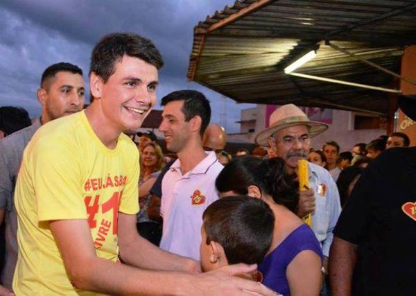 Rafael Bolacha foi eleito em pleito suplementar realizada no último dia 4 de junho em Moreira Sales (Foto: Divulgação)