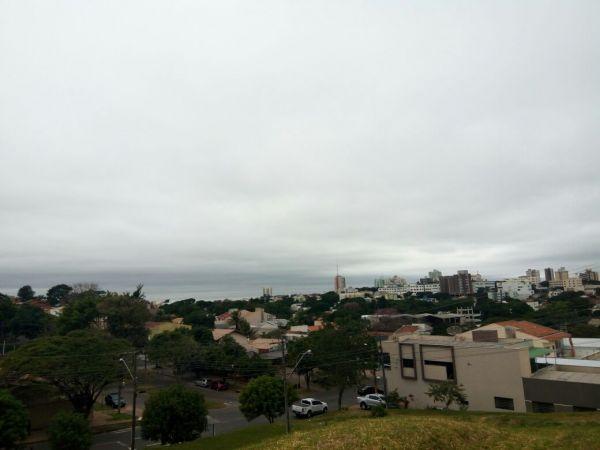 De noite resfria mais ainda em Umuarama, e de acordo com o Simepar existe a possibilidade de geada na madrugada (Foto: Portal da Cidade Umuarama)