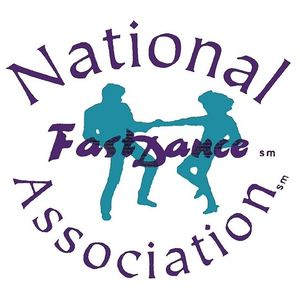 National fast dance assoc logo