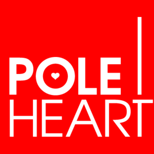 Pole heart logo