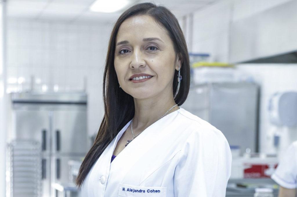 María Alejandra Cohen, Directora de Nutrición y Dietética (Santiago).