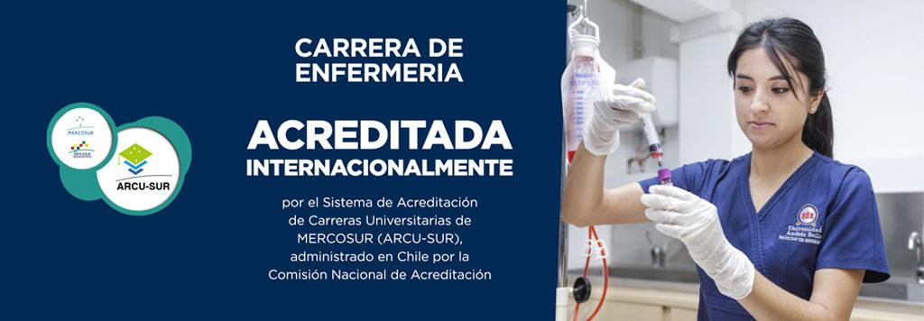 Carrera de Enfermería acreditada internacionalmente UNAB
