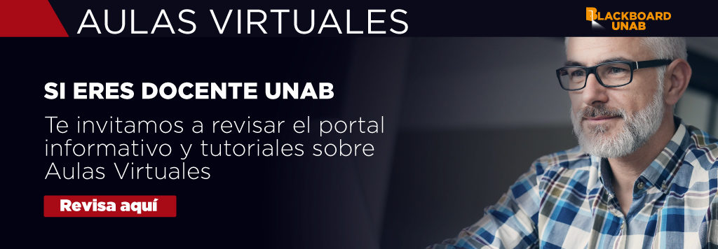 Aula virtual docente unab