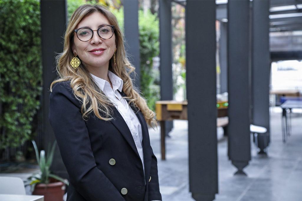 KAREN MEDINA, Directora de Escuela de Derecho Vespertino (Santiago).