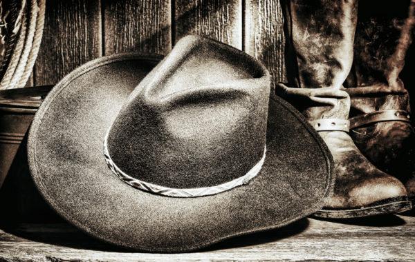 American-West-rodeo-Cowboy-Felt-Hat