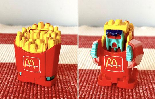 Classic McDonald's Toys