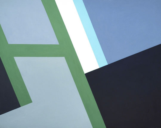 Judith Seligson, Gulet, 2012. Oil on panel. Available for $10,000.