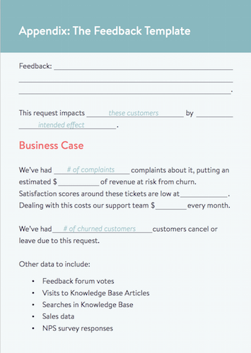 Kayako feedback template