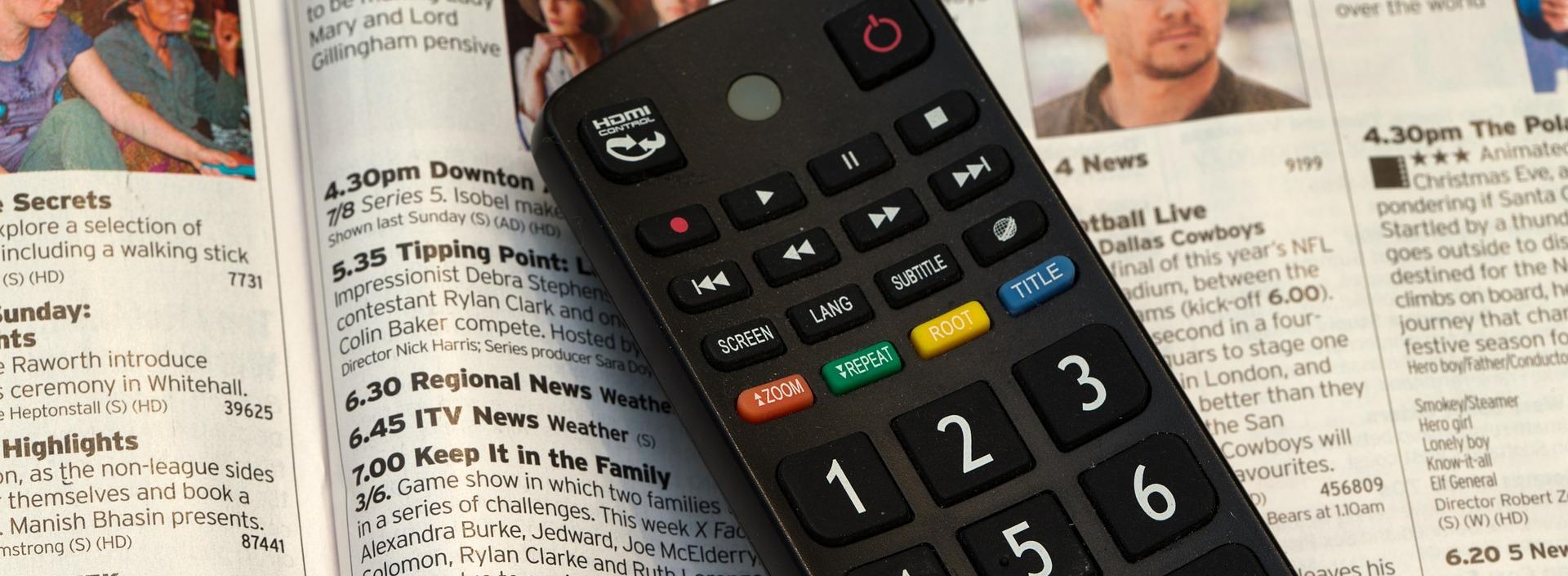 Television remote control 525705 1920