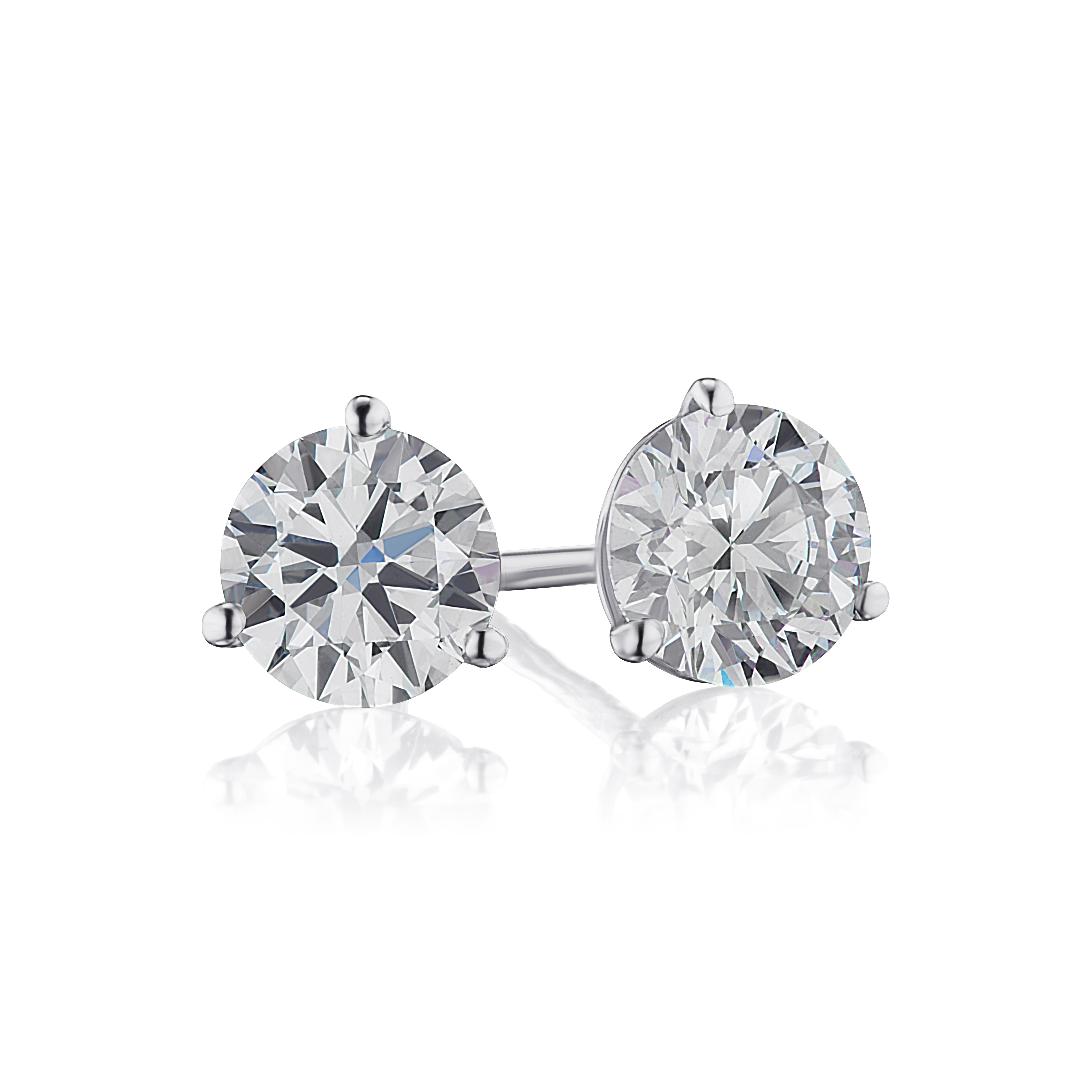 1.05ct. Diamond Studs