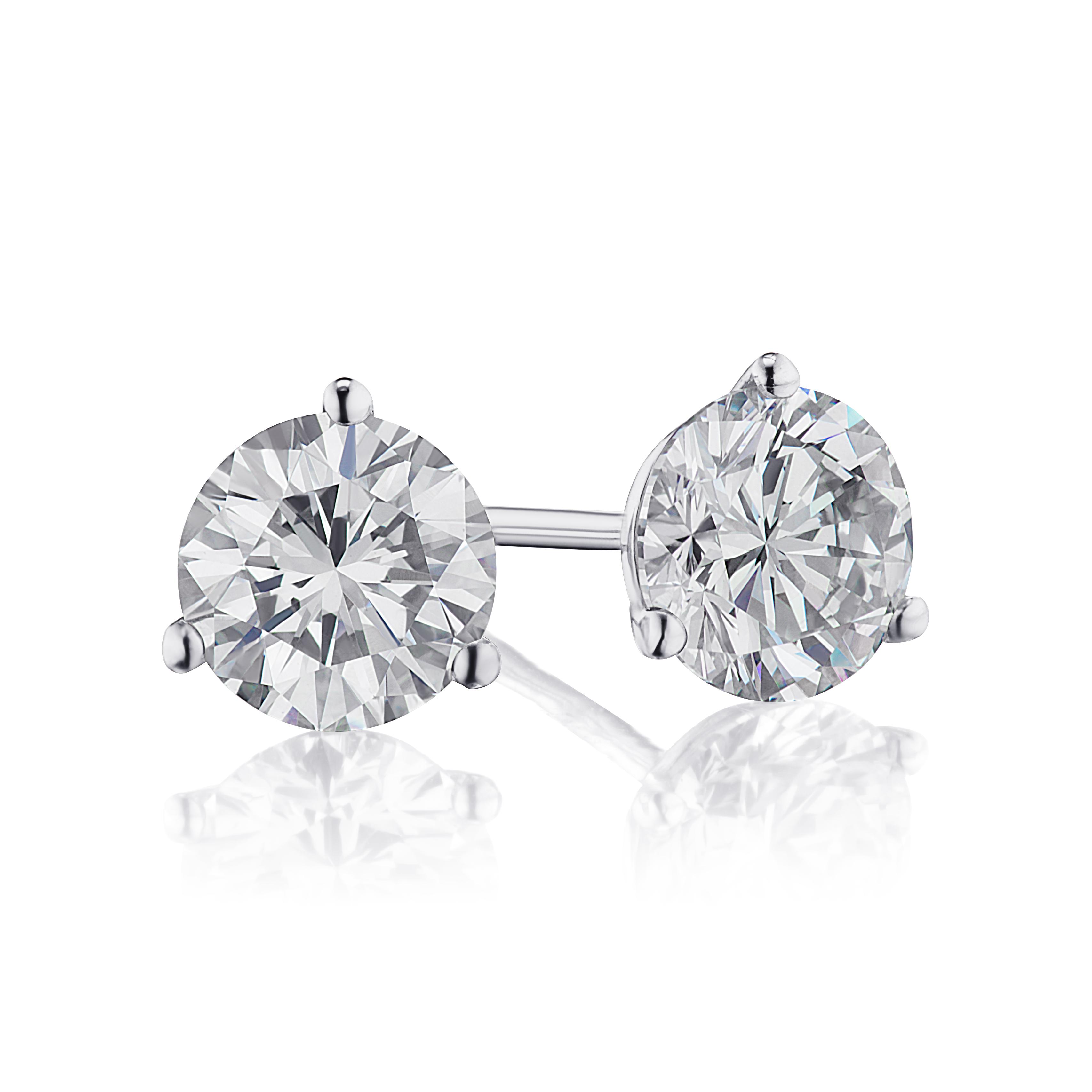 1.53ctw. Diamond Studs