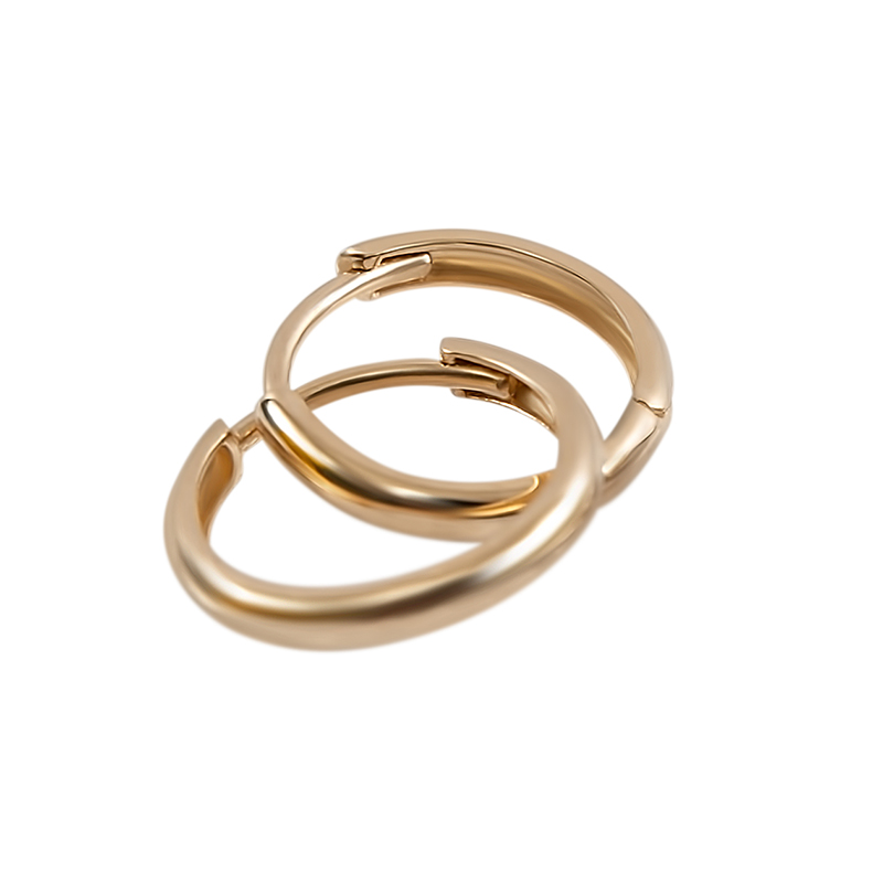 14kt. Yellow Gold Huggie Hoop Earring
