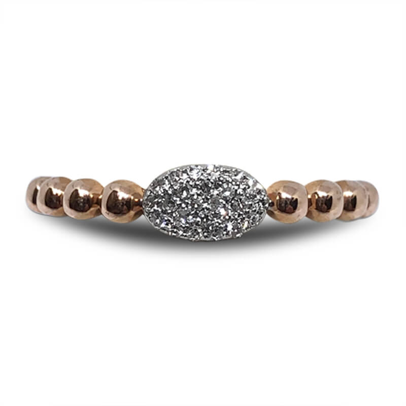 Rose Gold Stacking Band