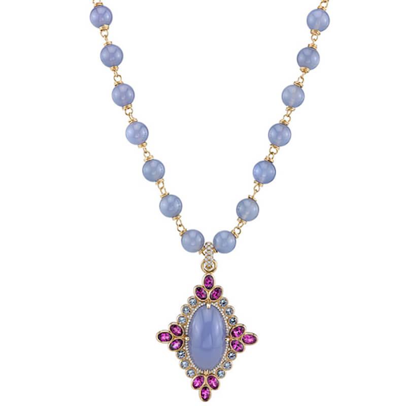 Majesty Chalcedony Pendant