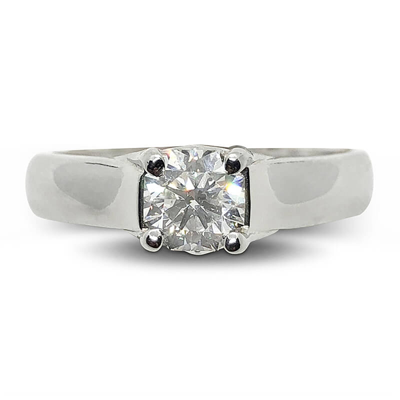 Solitaire Elara Cut Diamond Ring
