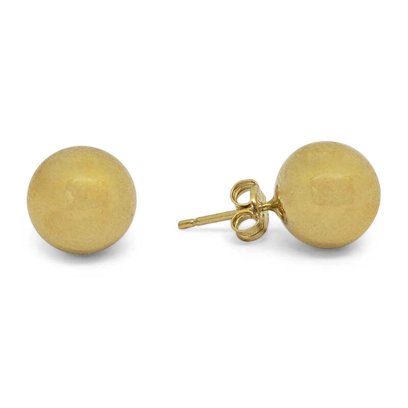 14kyg Ball Stud Earring