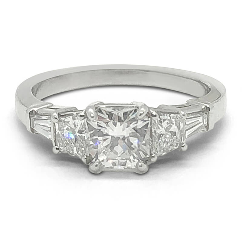 Handmade Elara Cut Diamond Ring