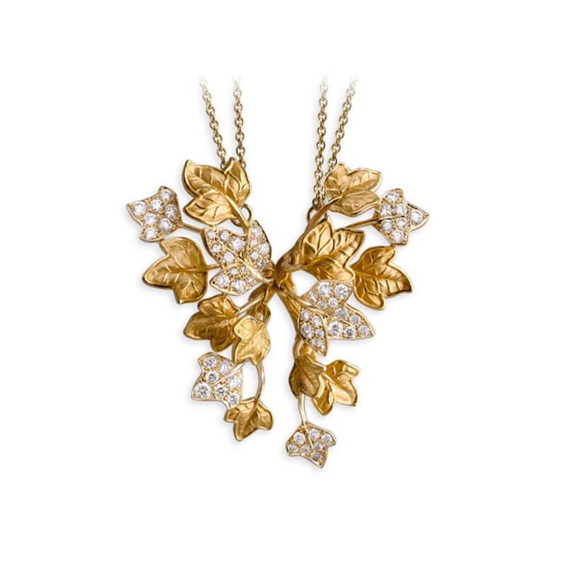 Verona Leaf Necklace