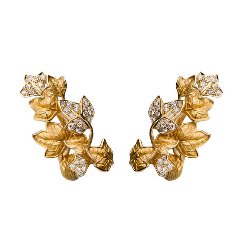 Verona Leaf Earrings