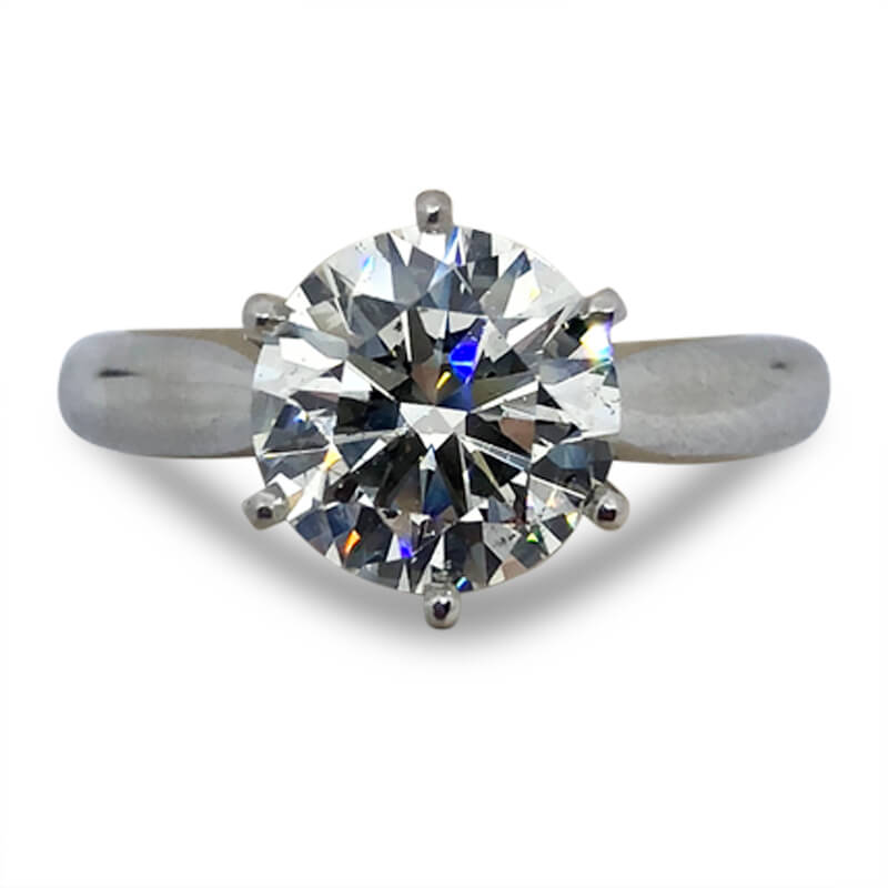 2.27ct. Solitaire Tiffany Ring