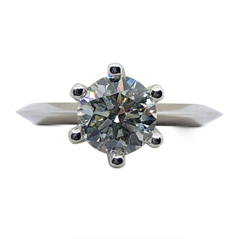 1.26ct. Solitaire Engagement Ring