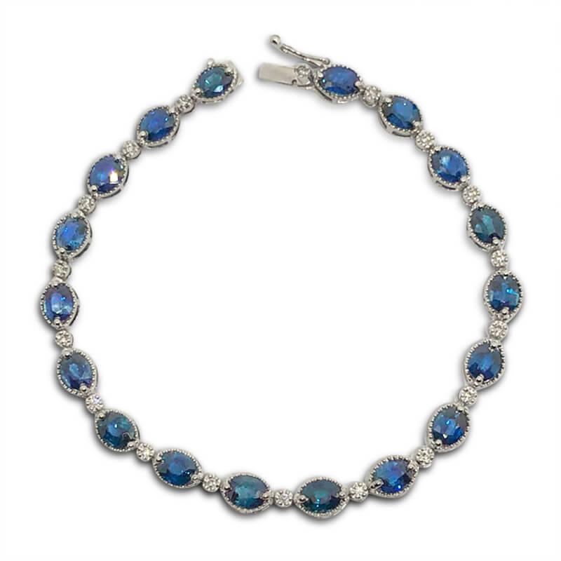 9.00ct. Sapphire Bracelet