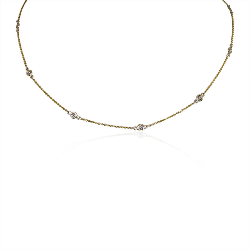 .36ct. Diamonds by the Yard Necklace