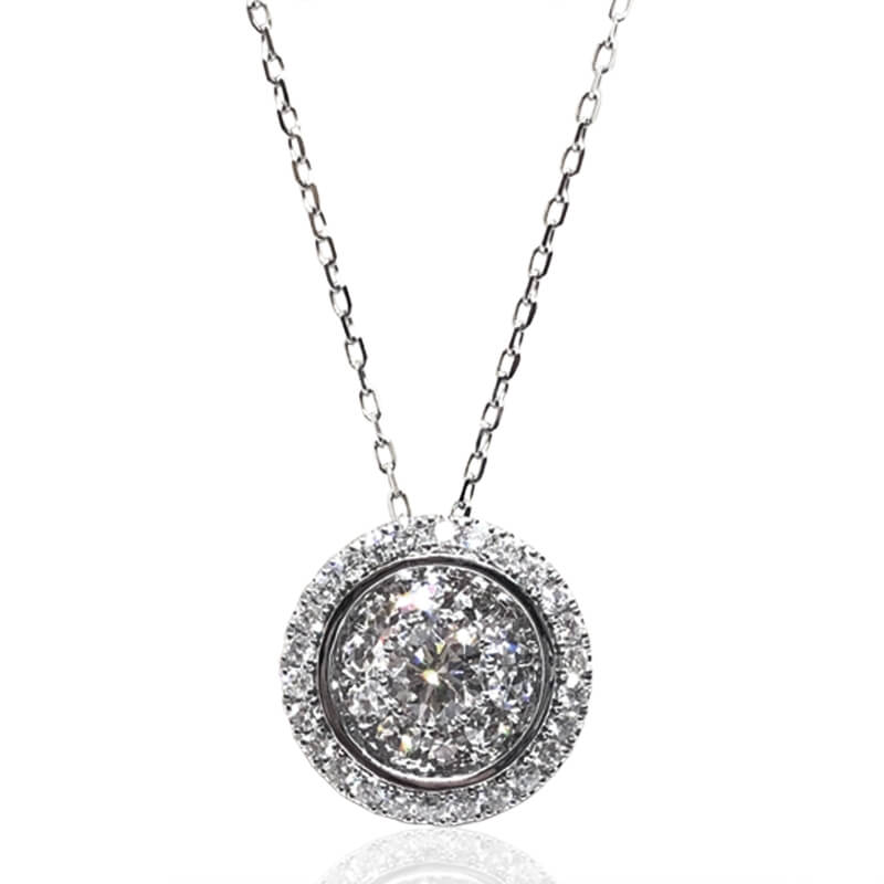 .71ct. Diamond Cluster Pendant