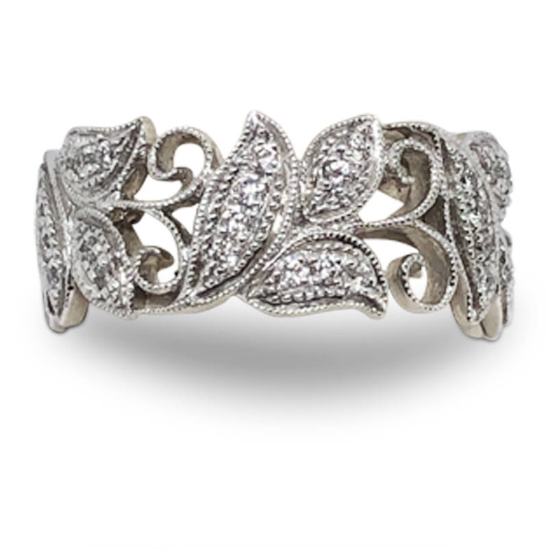 Diamond Leaf Band