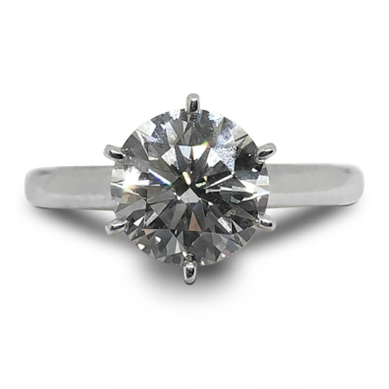 2.06ct. Solitaire Engagement Ring