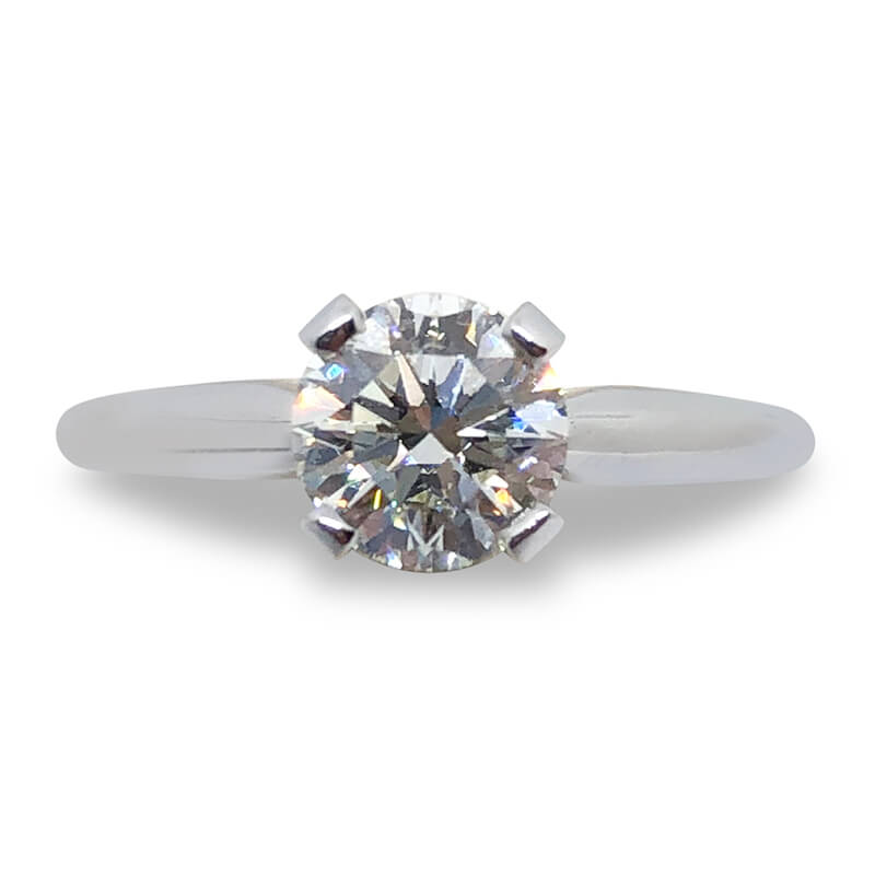 .90ct. Round Diamond Solitaire Ring