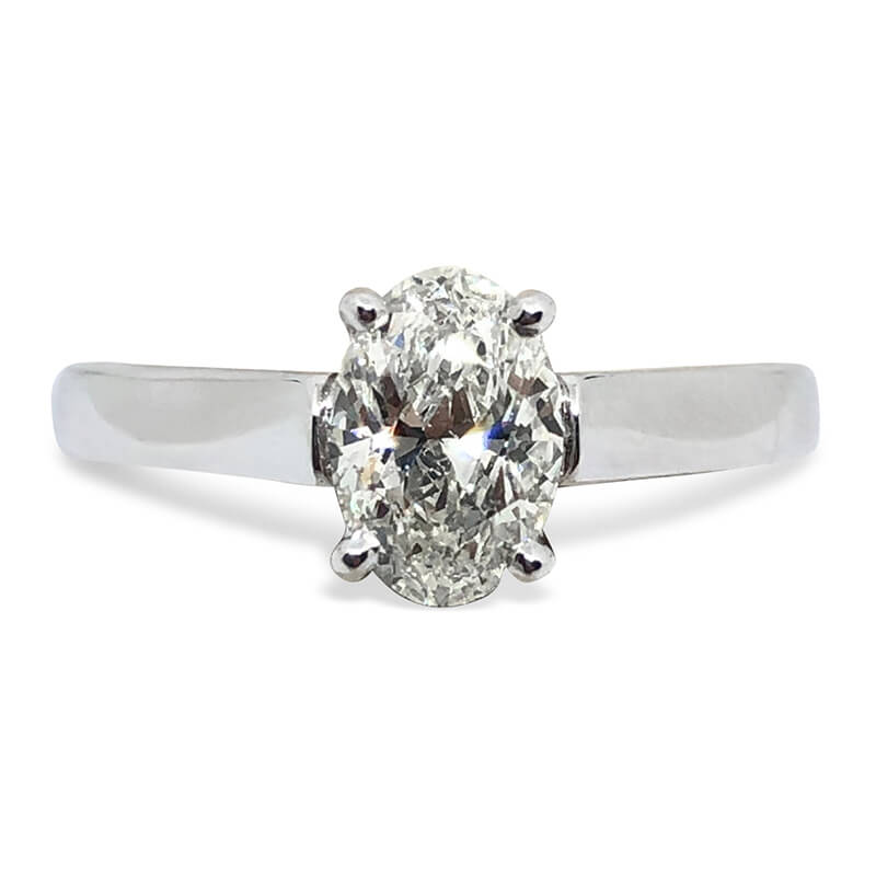.90ct. Oval Solitaire Ring