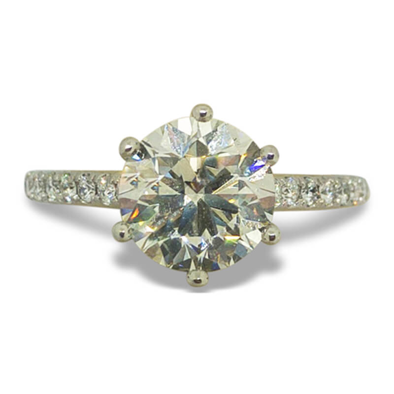 2.08ct. Solitaire Ring
